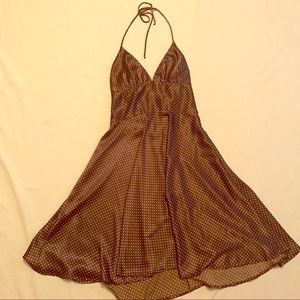 Alyn Paige Brown And Cream Dress size 11-12
